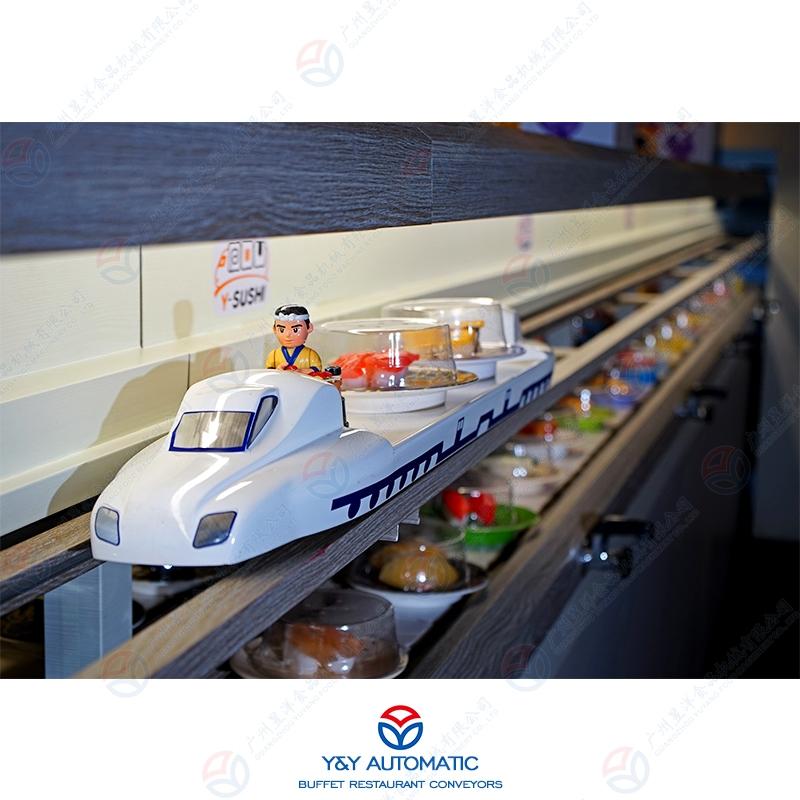 直行式新干线送餐设备