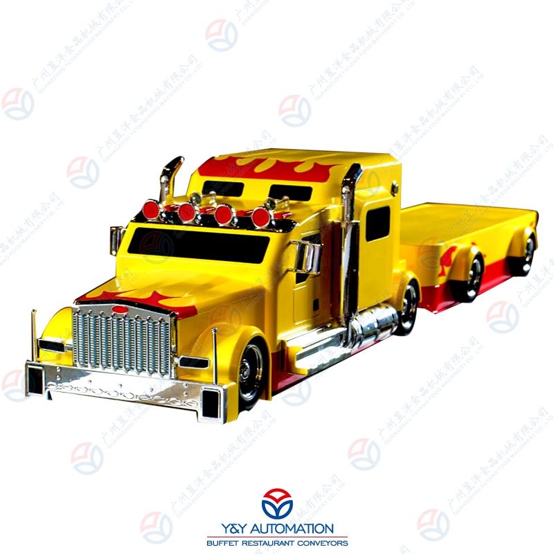 智能仿真模型卡车AU-G2(黄)
